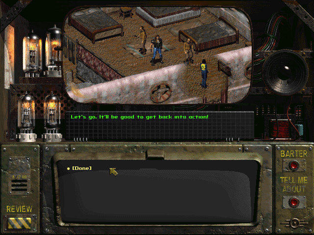 Let's Jogar: Fallout - A Post Nuclear Roleplaying Game Fallout-1-quick-start-recruiting-ian