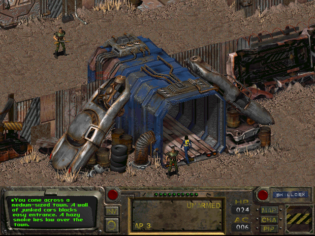 play fallout 1 on windows-7