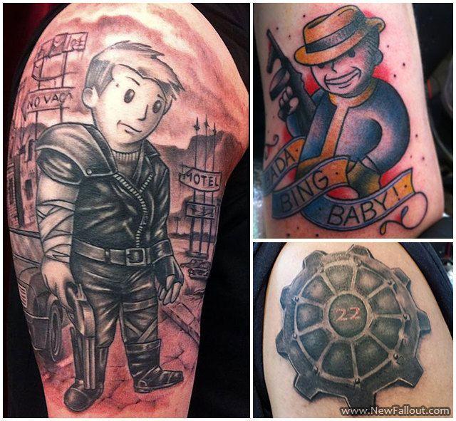 Vault Boy Tattoo Vault Boy Nuka