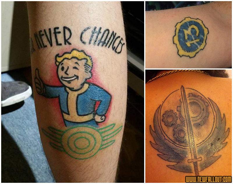 Fallout 3 Vault Boy Tattoo