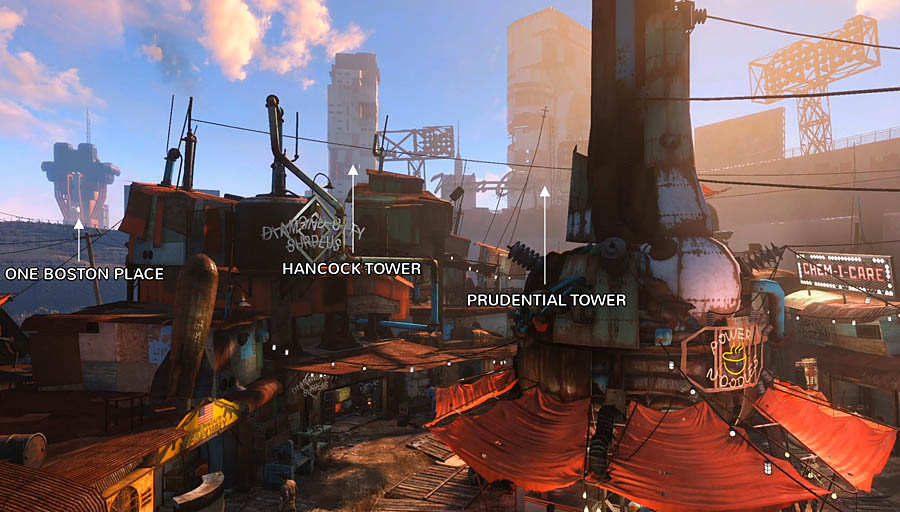 fallout 4 trailer map city